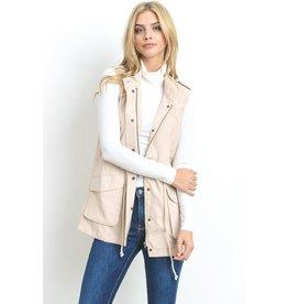 Lightweight Drawstring Vest