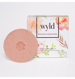 Lifestyle WYLD KONJAC SPONGE - FRENCH PINK CLAY