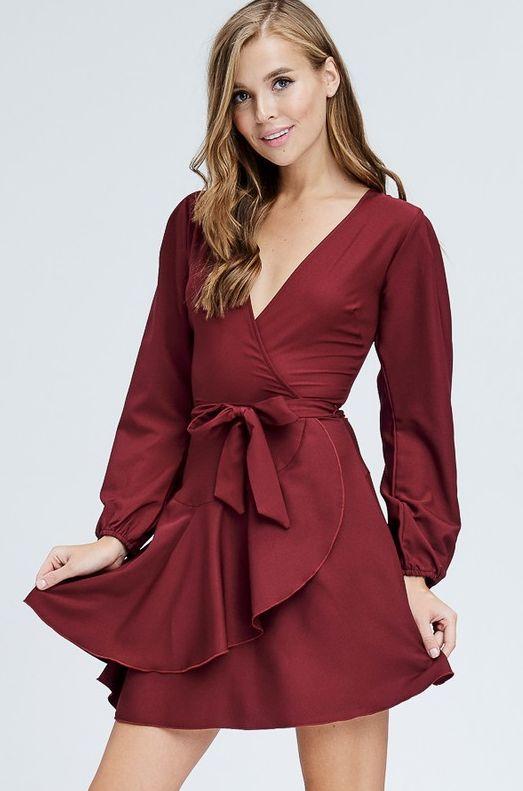 Laura Ruffled Dress