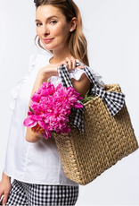 GINGHAM TOTE