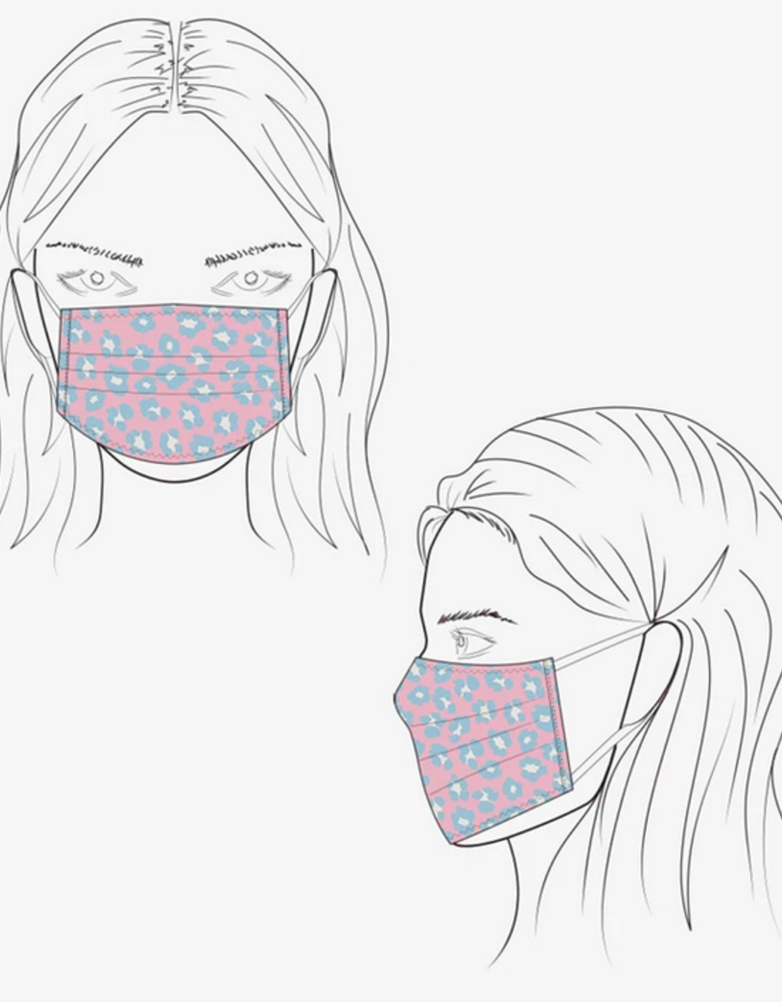 Essential Lifestyle Masks/ 5 pre-pack