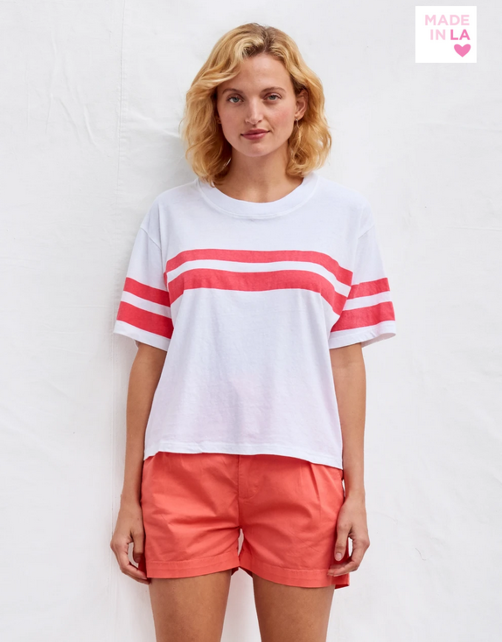 Two Stripe Boxy tee