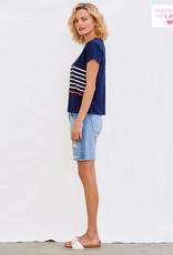 Pop stripe tee shirt