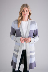 Reversible Blanket Stripe/Solid Duster