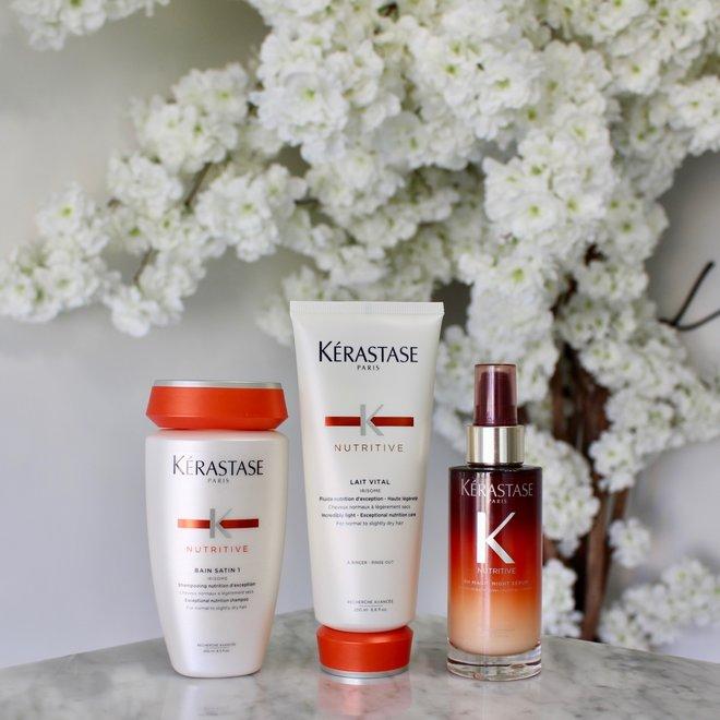 Routine Kerastase - Nutritive cheveux légèrement secs