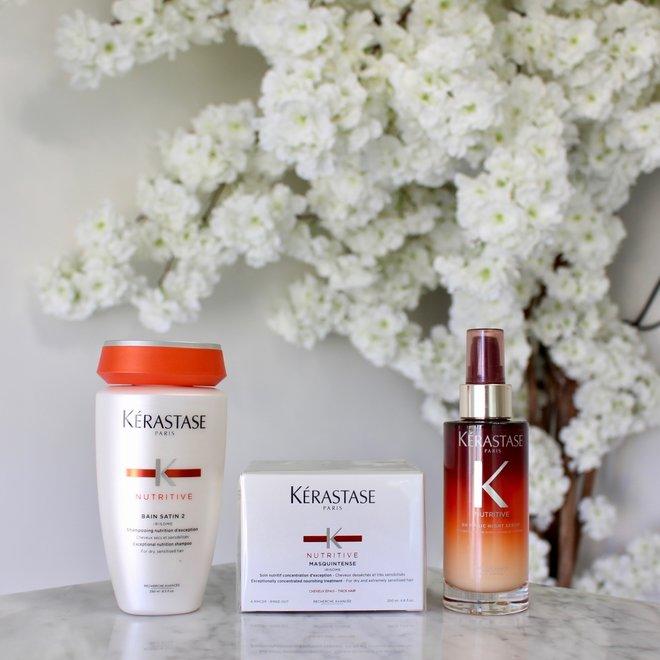 Routine Kerastase - Nutritive cheveux modérément secs