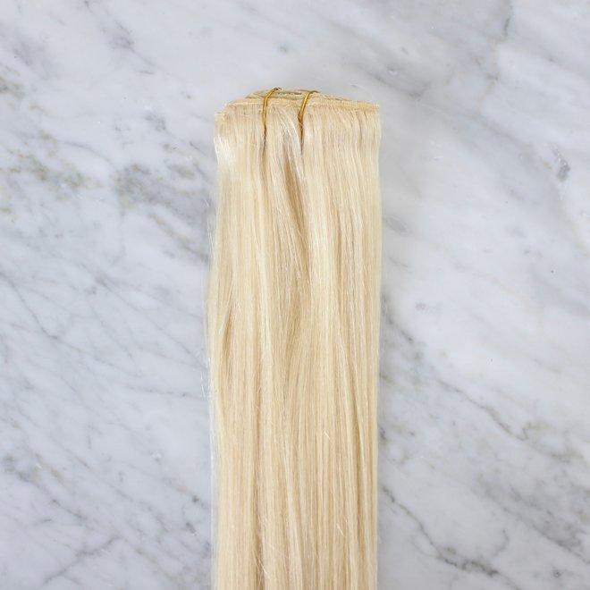 "Extensions à clips Blond Platine 20"""