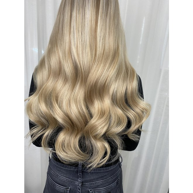 "Extensions à clips Blond Balayage Doré 20"""