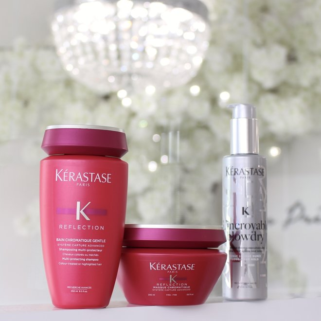 Routine Kerastase - Reflection cheveux fins et colorés