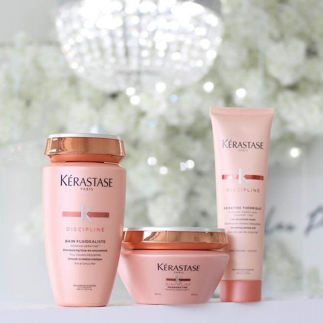 Routine Kerastase - Discipline cheveux indisciplinés