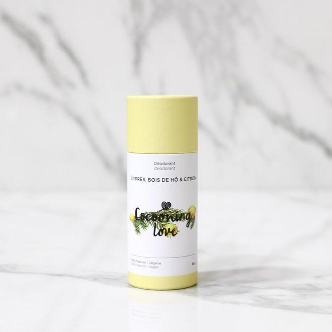 Déodorant (carton) - Cyprès, Bois de Hô & Citron