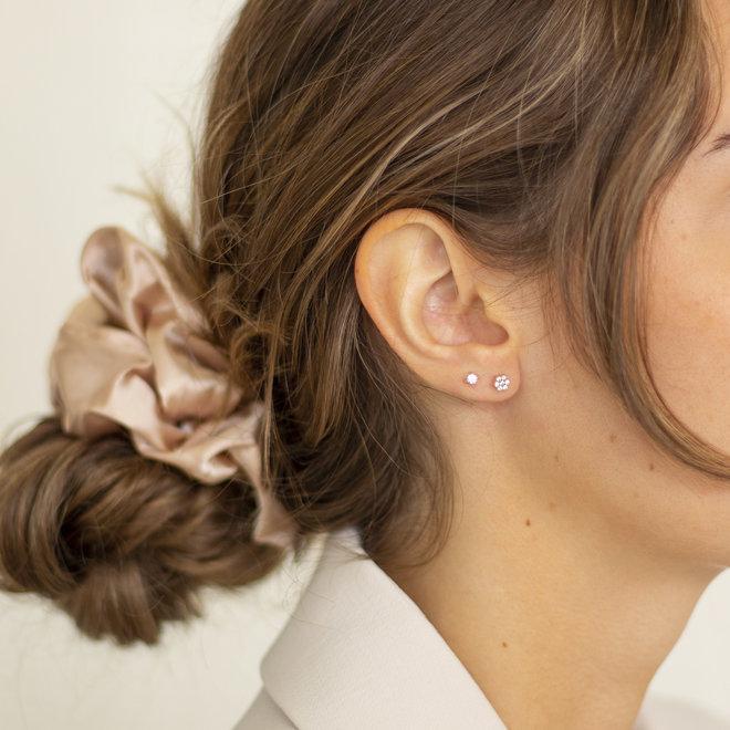 Boucles d'oreilles Anis étoilée  - Or