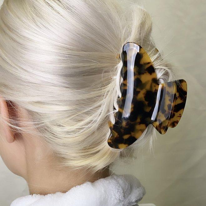 Pince à cheveux - Léopard