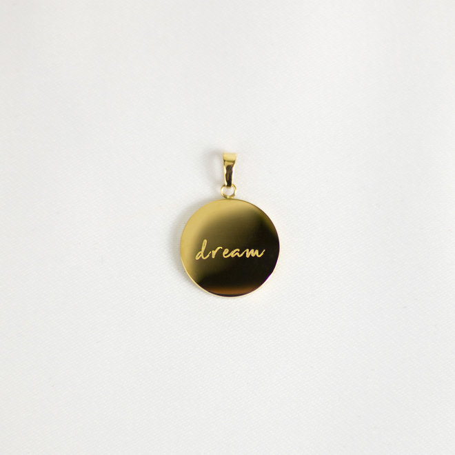 Pendentif Dream - Or