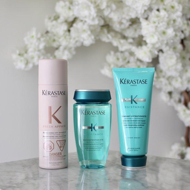 Routine Extentioniste avec shampoing sec