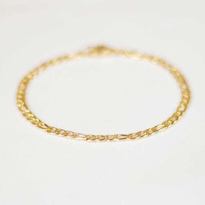 Bracelet figaro Périlla - Or