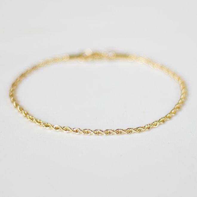Bracelet torsadé Posy - Or