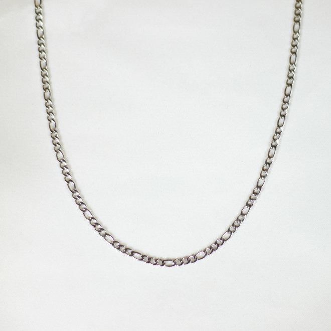 Chaîne figaro Périlla - Argent