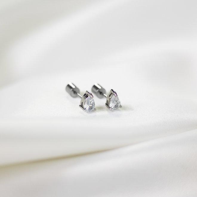 Boucles d'oreilles Pyrus 3mm
