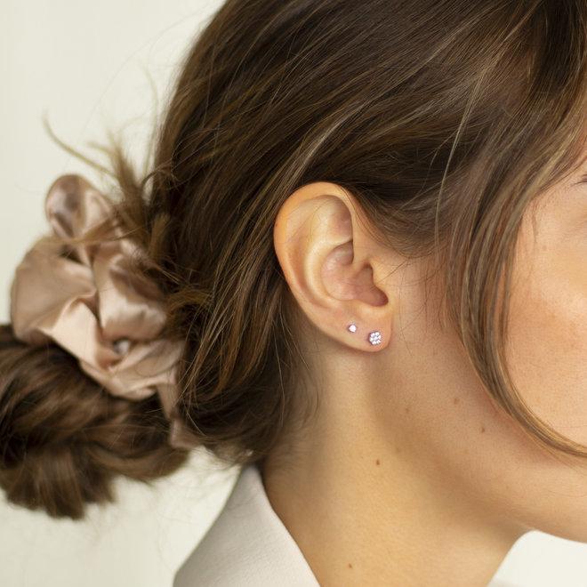 Boucles d'oreilles Anis étoilée - Argent