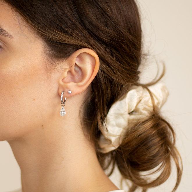 Boucles d'oreilles Liris - Argent