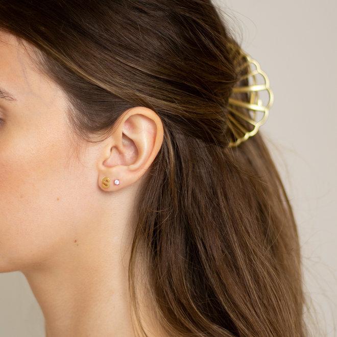 Boucles d'oreilles lettre S