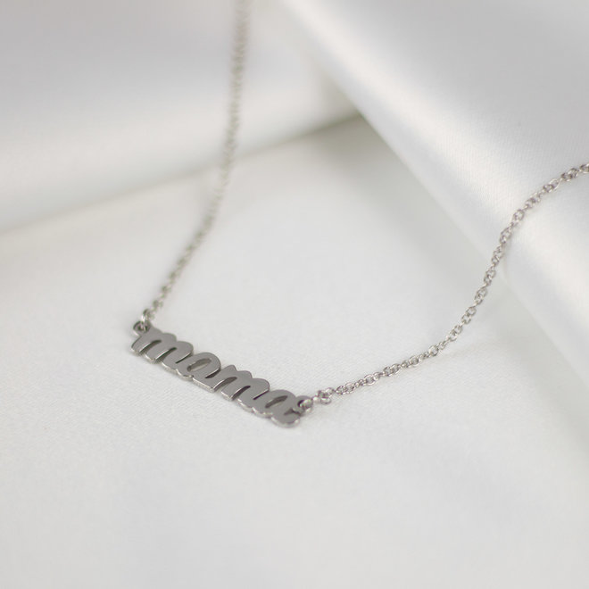 Collier Mama - Argent