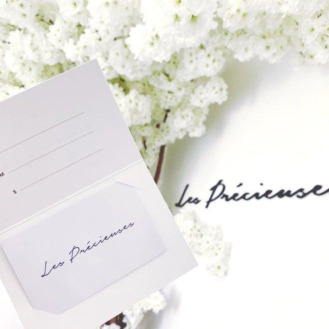 Carte-cadeau 15$ et chouchou champagne test