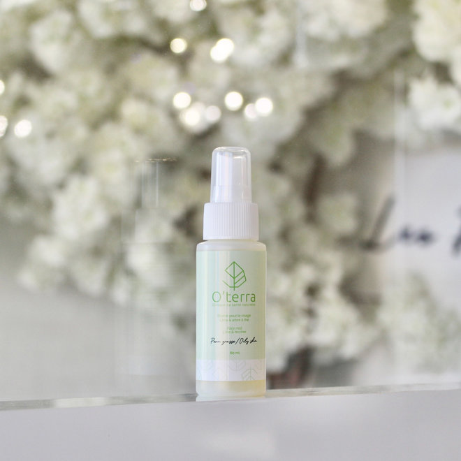 Brume lime et arbre à the pour peau grasse - 60ml