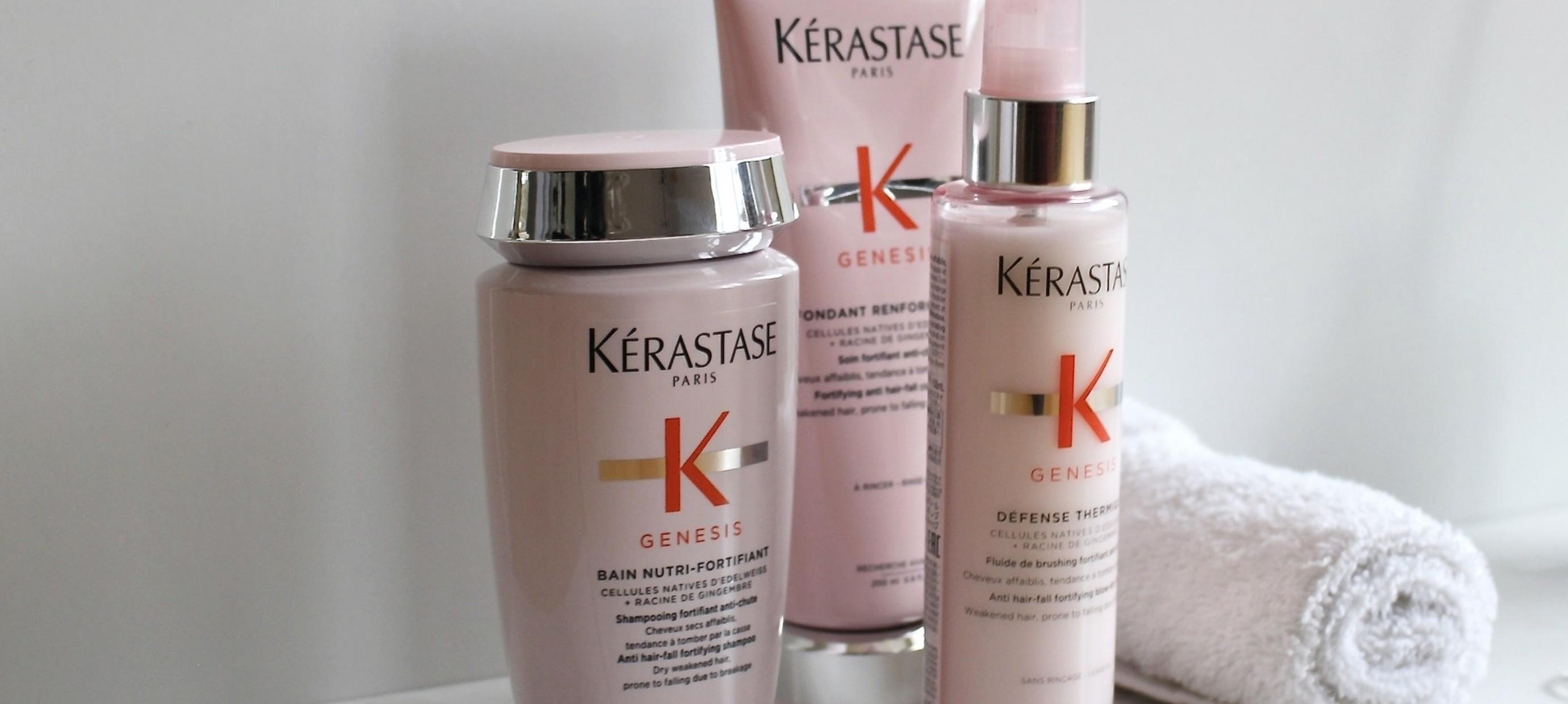 Prévenir la perte de cheveux avec la gamme Genesis