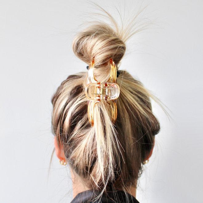 Pince à cheveux essentielle - Caramel