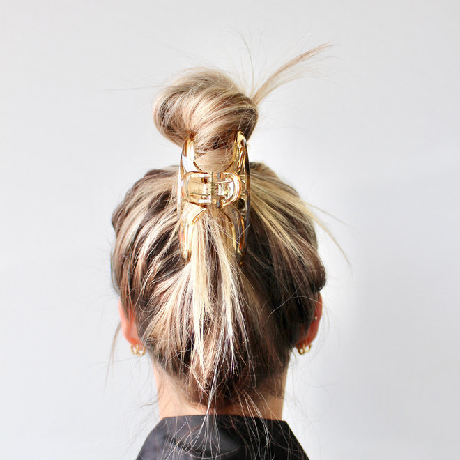 Pince à cheveux essentielle - Brun pâle