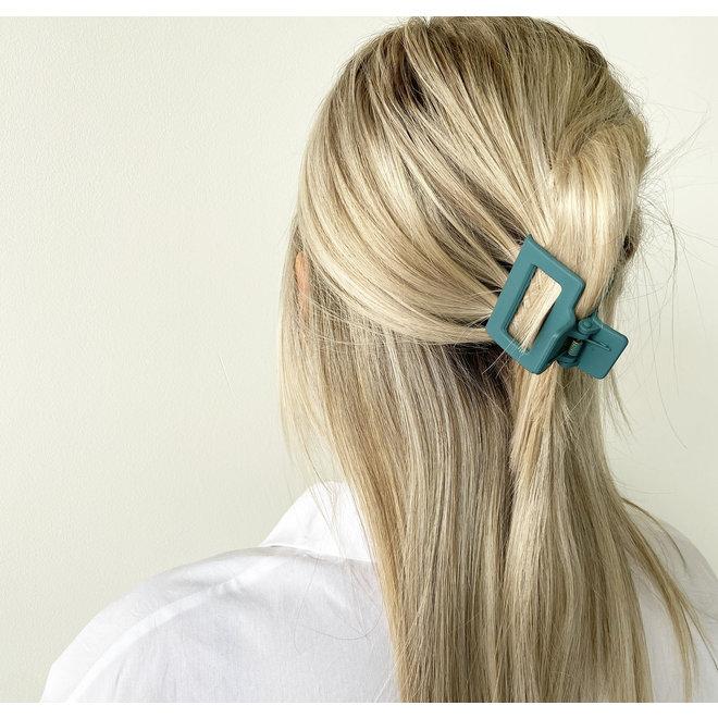 Pince à cheveux carrée - Positano mat
