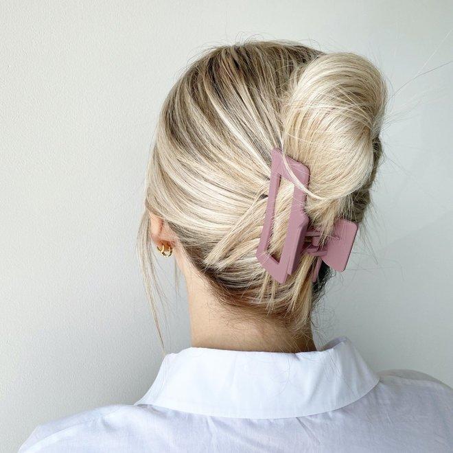Pince à cheveux ajourée - Napa mat