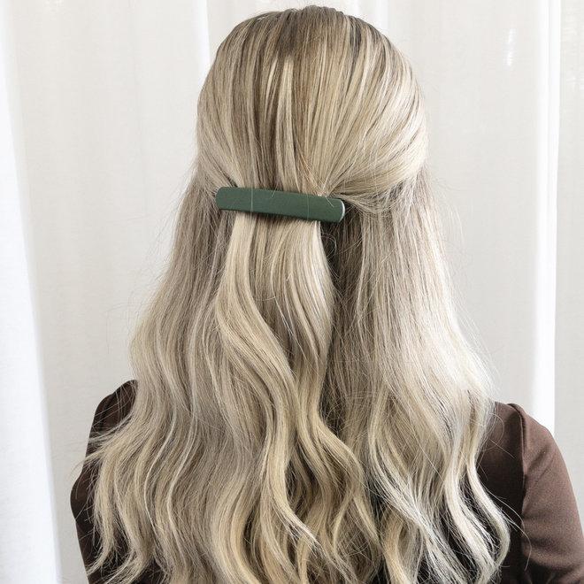 Barrette à cheveux la Dôme - Kaki mat