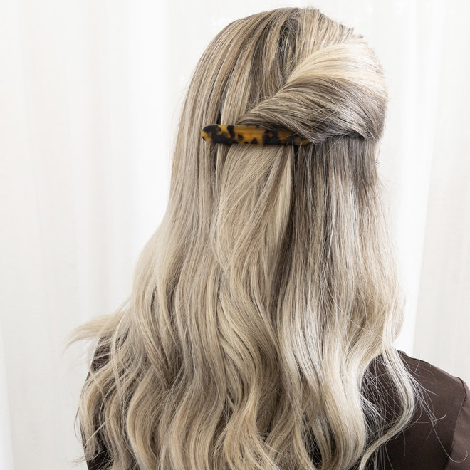 Barrette à cheveux la coupole - Léopard