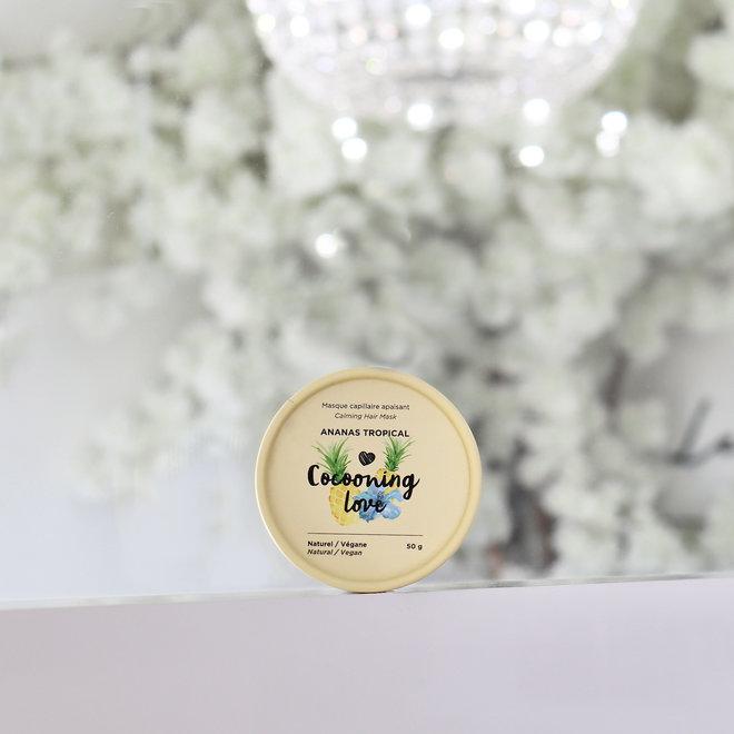 Masque capillaire Apaisant -  Ananas tropical