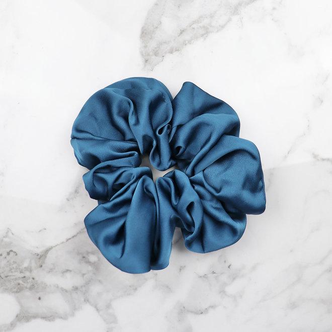Chouchou en térylène - Bleu classique