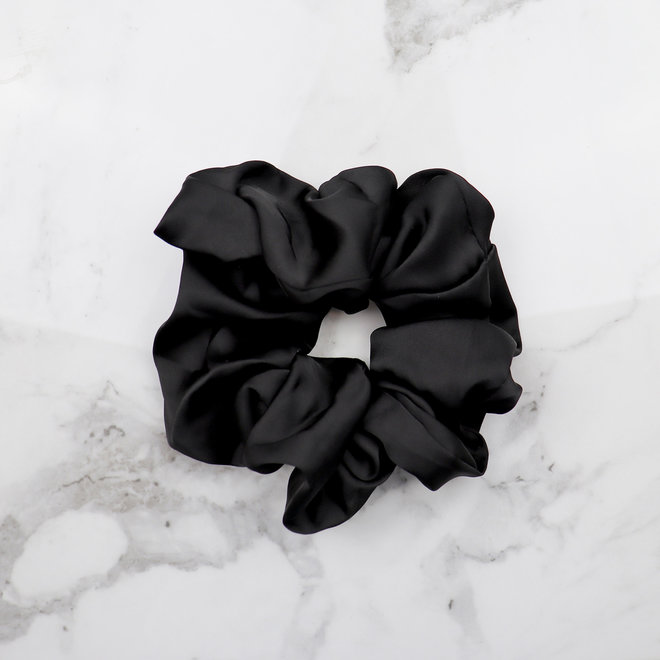 Chouchou en térylène - Noir