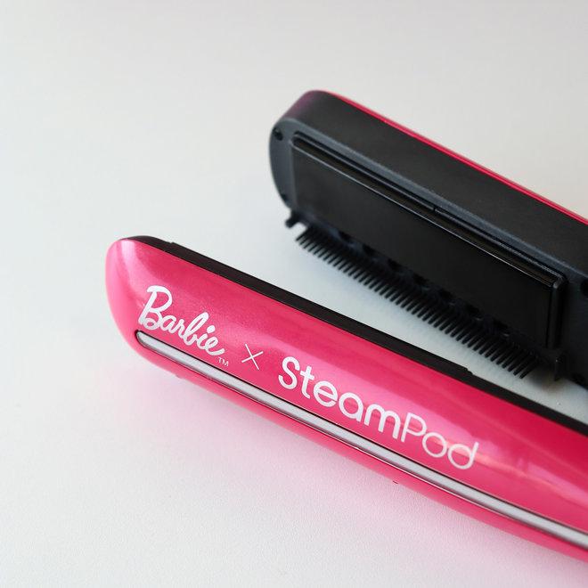 Trio Barbie x SteamPod 3.0 - Cheveux épais - Édition limitée