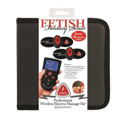 Fetish Fantasy Series Fetish Fantasy Series Shock Therapy Professional Wireless Electro-Massage Kit