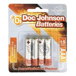 Doc Johnson Doc Johnson AAA Size Battery 4 Pack