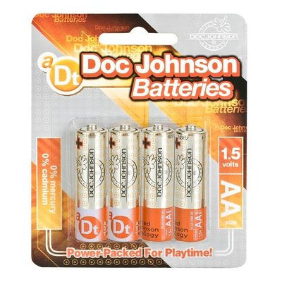 Doc Johnson Doc Johnson AA Size Battery 4 Pack