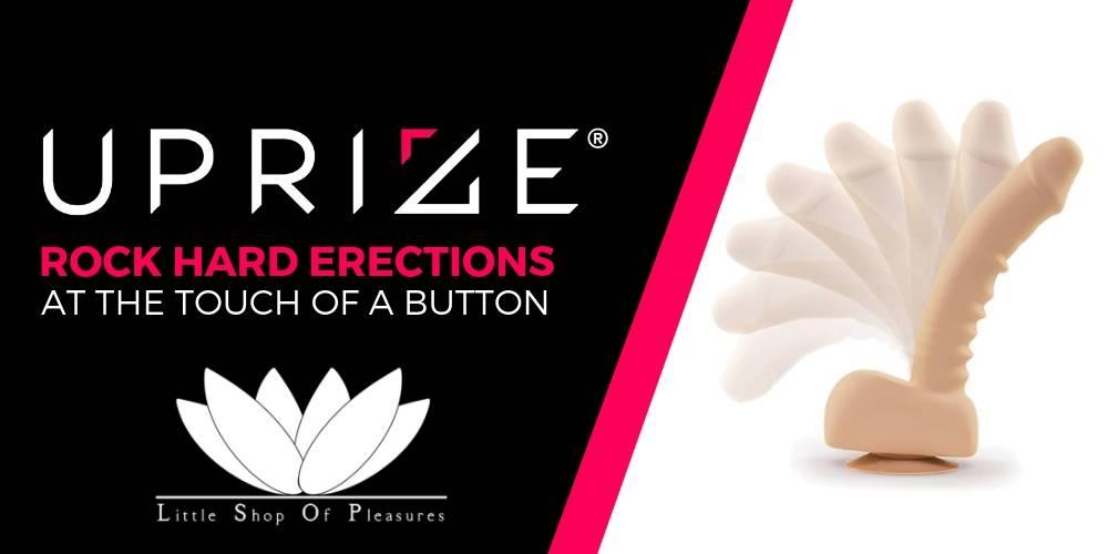 November 2018 Featured Product - UPRIZE AutoErect Vibrating Dildo