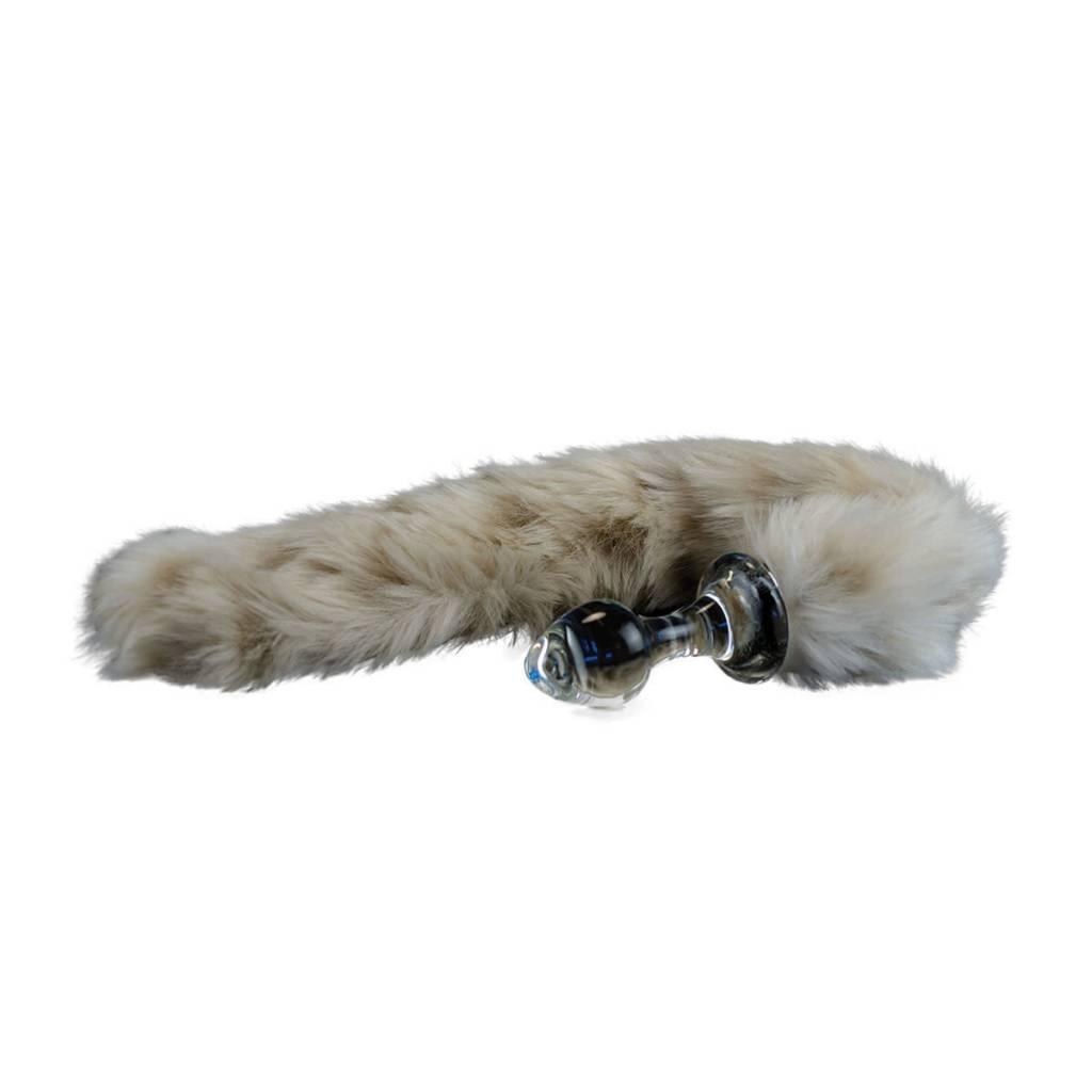 de481013ab3 Crystal Delights Minx Tail Plug - Snow Leopard - Little Shop of ...