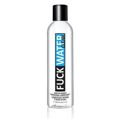 FuckWater Clear 8.1oz