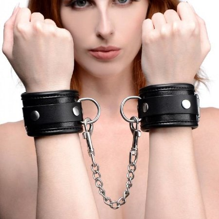 Mistress by Isabella Sinclaire Mistress by Isabella Sinclaire Premium Leather Wrist Cuffs