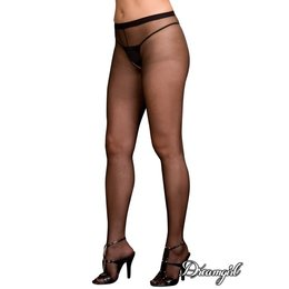 Dreamgirl Sheer Open Crotch Pantyhose OSX