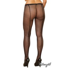 "Dreamgirl ""Barcelona"" Fishnet Pantyhose OSX"