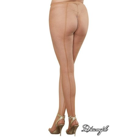 Dreamgirl Dreamgirl Barcelona Fishnet Pantyhose OSX